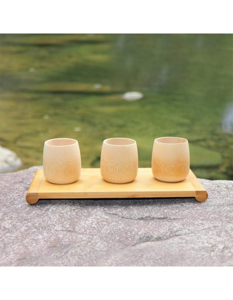Natural Bamboo Cup for toothbrush